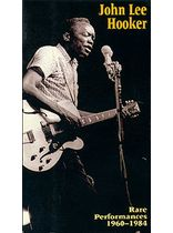 Hooker - John Lee Hooker Rare Performances 1960-1984 Video - Video Cassette