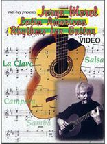 Morel - Jorge Morel Latin American Rhythms for Guitar Video - Video Cassette