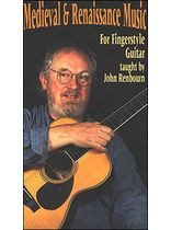 John Renbourn - Medieval and Renaissance Music for Fingerstyle Guitar Video - Video Cassette
