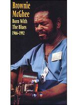 Brownie Mcghee/Born With the Blues 1966-1992 Video Video Cassette