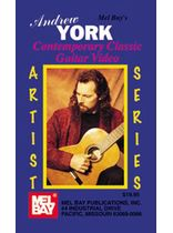York - Andrew York/Contemporary Classic Guitar Video - Video Cassette