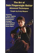 Craig Wagner - Art of Solo Fingerstyle Guitar Advanced Techniques Video - Video Cassette