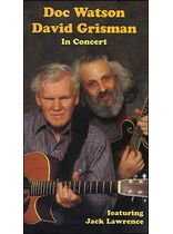 Doc Watson - David Grisman In Concert Video Video Cassette