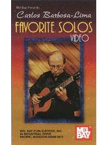 Carlos Barbosa-Lima - Carlos Barbosa-Lima Favorite Solos Video - Video Cassette
