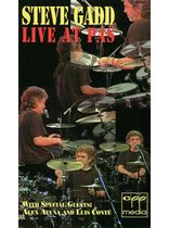 Steve Gadd - Steve Gadd: Live at PAS - Video Cassette