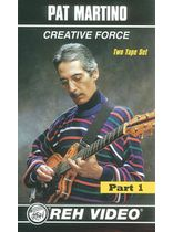 Pat Martino - Creative Force Complete - Video Cassette