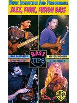Bass Tips -- Jazz, Funk, Fusion Bass - Video Cassette