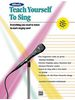 Alfred's Teach Yourself to Sing - Enhanced CD